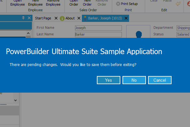 Ultimate Suite for PowerBuilder Message